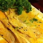 栄記 香辣坊 - バンバン鶏