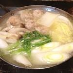 松紀 - 鳥つくね鍋なう