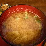 鎌倉キネマ堂 - 味噌汁