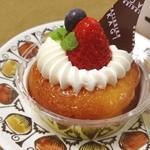 ル パティシエ タカギ - サヴァラン。この世で一番好きなデザート、でもなかなか売ってないの(´Д` ) 美味しいの食べたい!