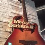 グランチェルト - ギターもクリスマス仕様。