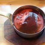 ガンジー - トマトとチーズのカレー
