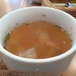 グレイスガーデンプラス - スープ。具沢山です。