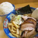 いっぱち - チャーシュー(950円)+ご飯(100円)