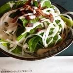 新南愛知カントリークラブ - 2012.12 おつまみのほうれん草サラダ