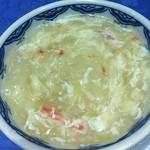 東光 - 蟹とフカヒレスープ