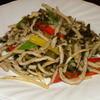 明之花 - 料理写真:豚肉と雪菜の炒め
