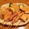 飲み喰い処 郷 - 料理写真:串揚げ10品盛り