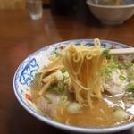 つるや - 料理写真:麺はストレート麺