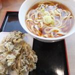 16435310 - 舞茸天ぷらうどん(550円)