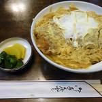 Oshokujimaiami - 「かつ丼」680円也。税込。