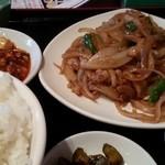 16436582 - 豚肉のしょうが焼定食は日替わり(≧▽≦)(木)