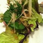 16436777 - ひらすずきのお刺身サラダ