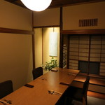 かみくら - 2階個室 和の空間