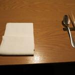 かみくら - テーブルセッティング