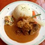 エコ ロロニョン - 1回目2012年12月20日アジンデシ(羊肉のピーナツソース)