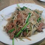 Yamafukuramen - ニラレバ炒め定食850円