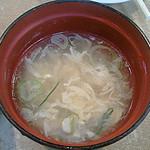 Yamafukuramen - 中華玉子スープ。