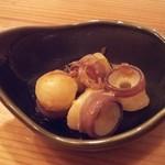 くすの木 - 北海水蛸の柚子胡椒和え