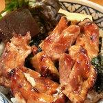 うなぎ割烹 登川 - キジ焼丼