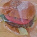 ホームベーカリー ピノ - ハンバーガー(\189-)