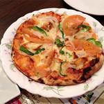 靭公園ムガル - コースその2:ピザ。イタリアンなのだが...