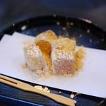 つるあん - きなこわらび餅