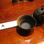 手打ちそば 行徳 慈庵 - お茶