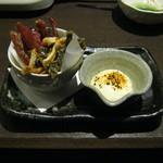 北の味紀行と地酒 北海道 - 「酒のあて」です。