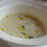 レストラン ミッテ - かぶのスープ