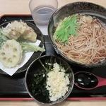 16443831 - ・「野菜天そば(\500)」