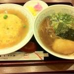 Shinnagataikkanrou - 天津飯600円+ラーメン500円