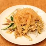 横浜中華街 景珍樓 - 三種前菜の盛り合わせ