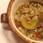 オー・グルマン - 旨味たっぷり内臓のスープ♡ オススメです