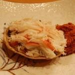 ほんだ - 料理写真:香箱蟹 2012.12