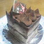 パピヨン - チョコレートのケーキ