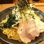 豚骨醤油らーめん 琢丸 - つけ麺