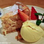 ドロール - いちごのチーズケーキ