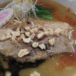 拉麺阿修羅 颯 - 2012年12月の限定麺「千葉味噌中華麺」900円