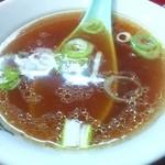 五十番 - コクの無いあっさり醤油スープ