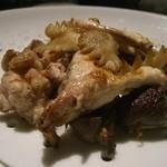 16451559 - 地鶏の軽いスモーク