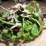 16451813 - ルコラ草とクレソンのサラダ