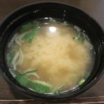 おかんの台所 - 味噌汁