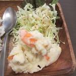 おかんの台所 - サラダ部分