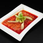 百菜百味 - 豚バラ肉のニンニクソース 780円