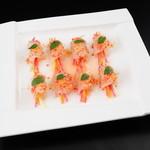 百菜百味 - 鮮魚のスライス巻き 1380円