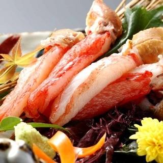 食の宝庫北海道の新鮮食材大集合!自慢の蟹は一食の価値あり!