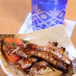 海の幸八 - 焼き物一番人気『シャコ七味焼』