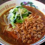 新長城 - 刀削麺 担々麺 750円