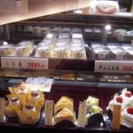 白水堂 - シースケーキ、こもも、チョコももも陳列(^.^)